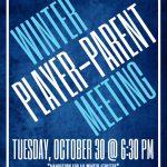 Winter Parent/Player Meeting Info