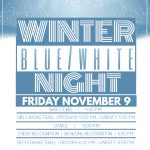 Winter Blue/White Night Itinerary