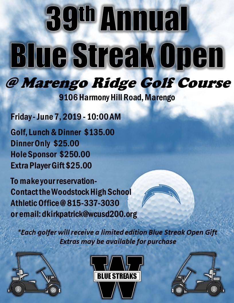 Blue Streak Open