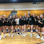Blue Streak Volleyball Clinches Conference