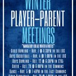 Winter Parent/Player Info