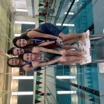 Girls JV/Varsity Swimming finishes # place at FVC Championships