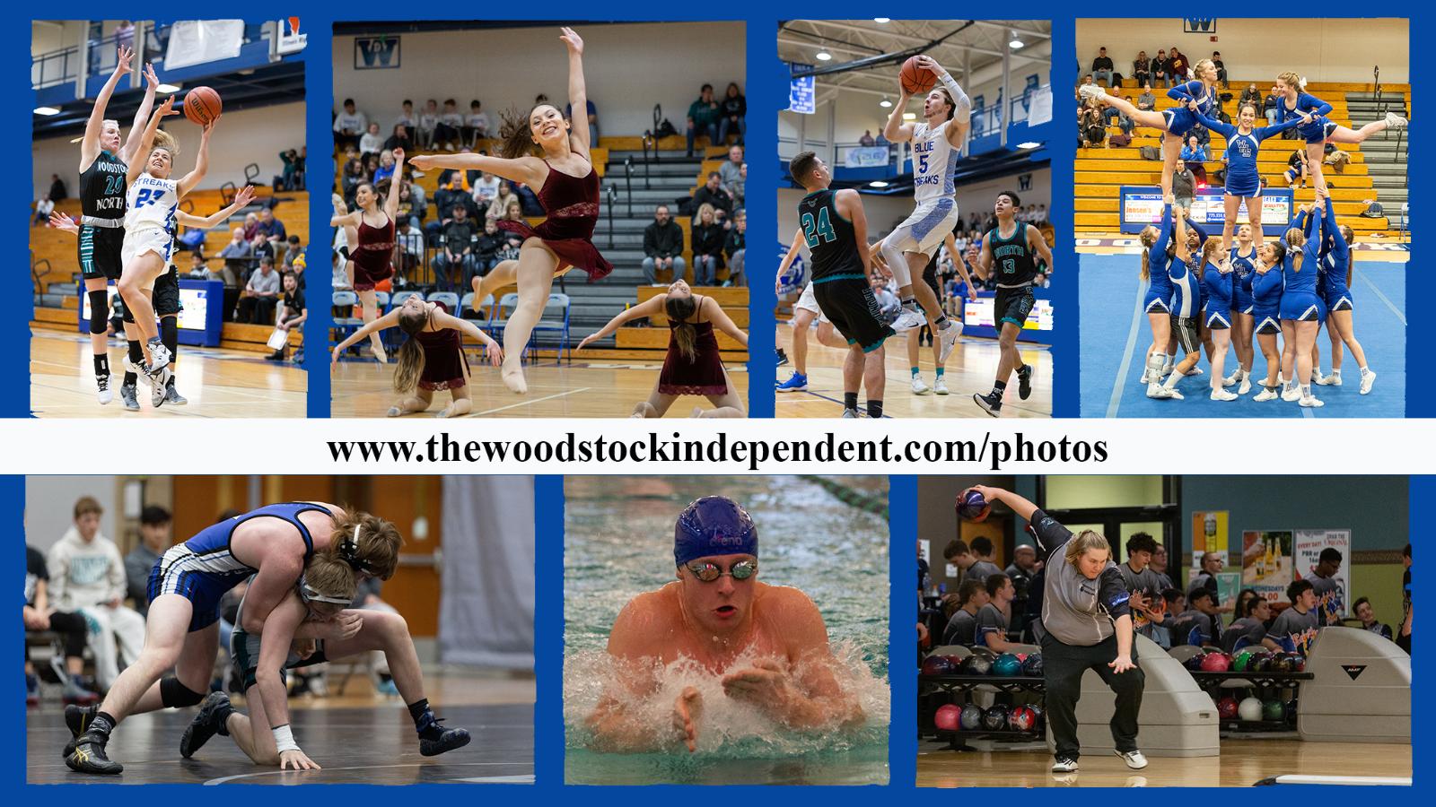 Blue Streaks Action Photos