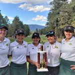Girls Varsity Golf finishes in 1st place at Belen Invitational