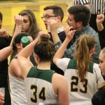 Girls Varsity Basketball beats Derry 44 – 43