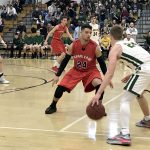 Boys Varsity Basketball beats Charleroi Area 57 – 47 in WPIAL 3A Playoffs