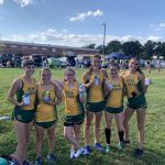 Girls Cross Country Team takes First Place at Quad County