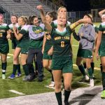 The Deer Lakes Girls Soccer Team defeats Quaker Valley
