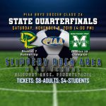 The Boys Soccer Team faces Mercyhurst Prep in the PIAA 2A Quarterfinals