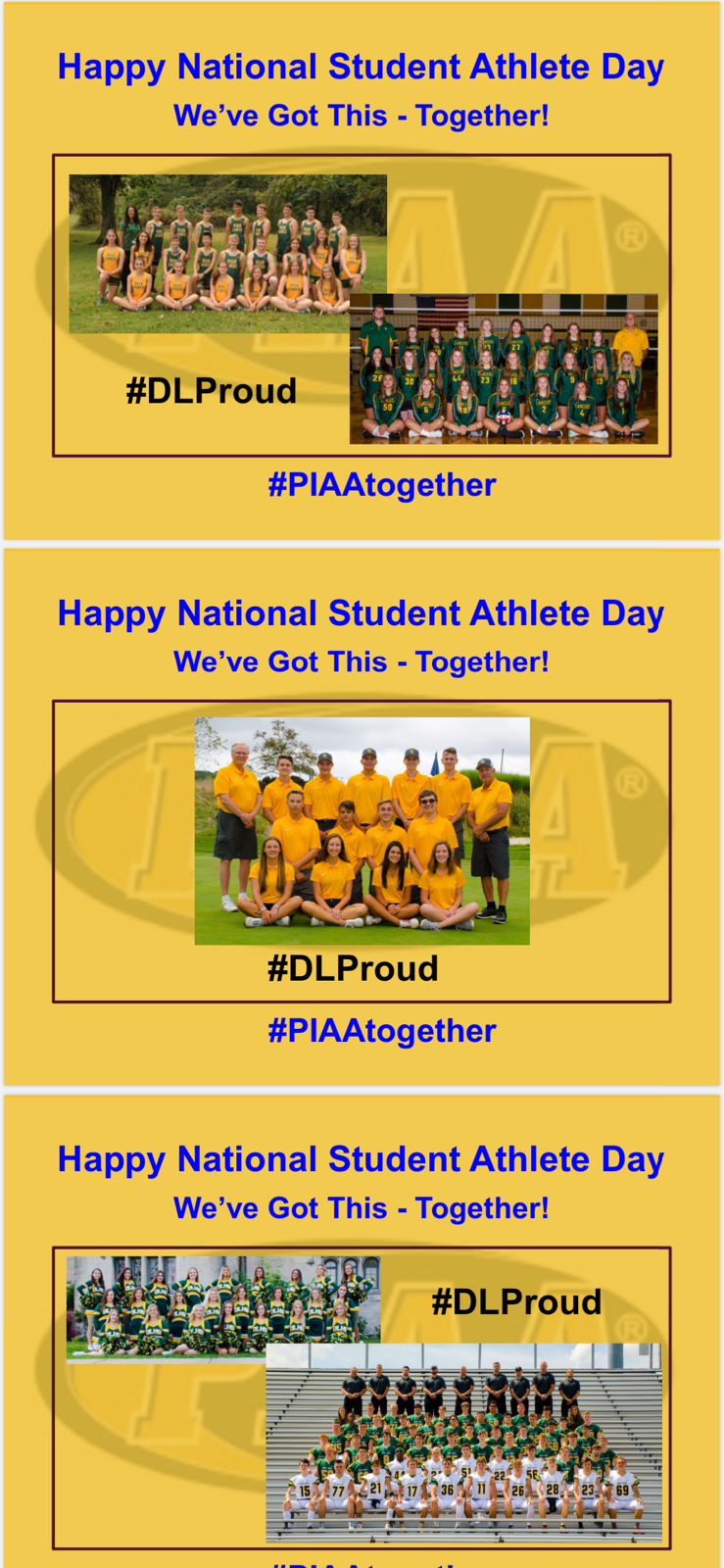 Happy National Student-Athlete Day!!!