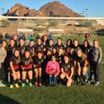Women's Soccer Places 2nd