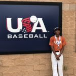 CPA 8th Grader Derrick Mitchell Catches the Eye of USA Baseball