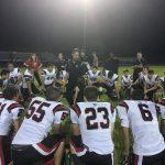 Varsity Football Gets Region Road Win