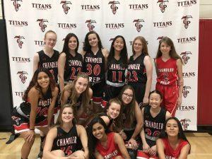 The basketball team.