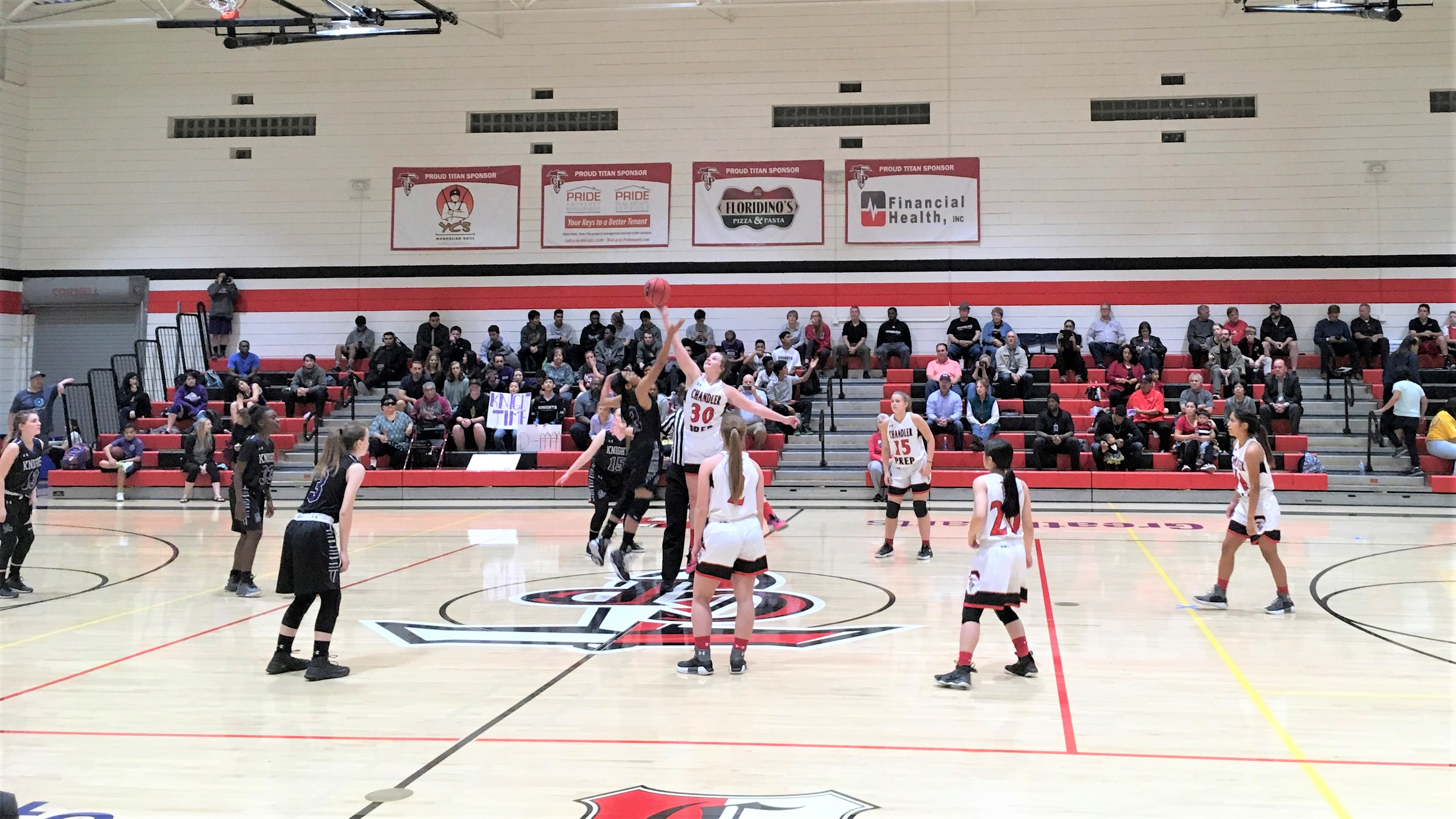 Girls Basketball dominate over AZ College Prep