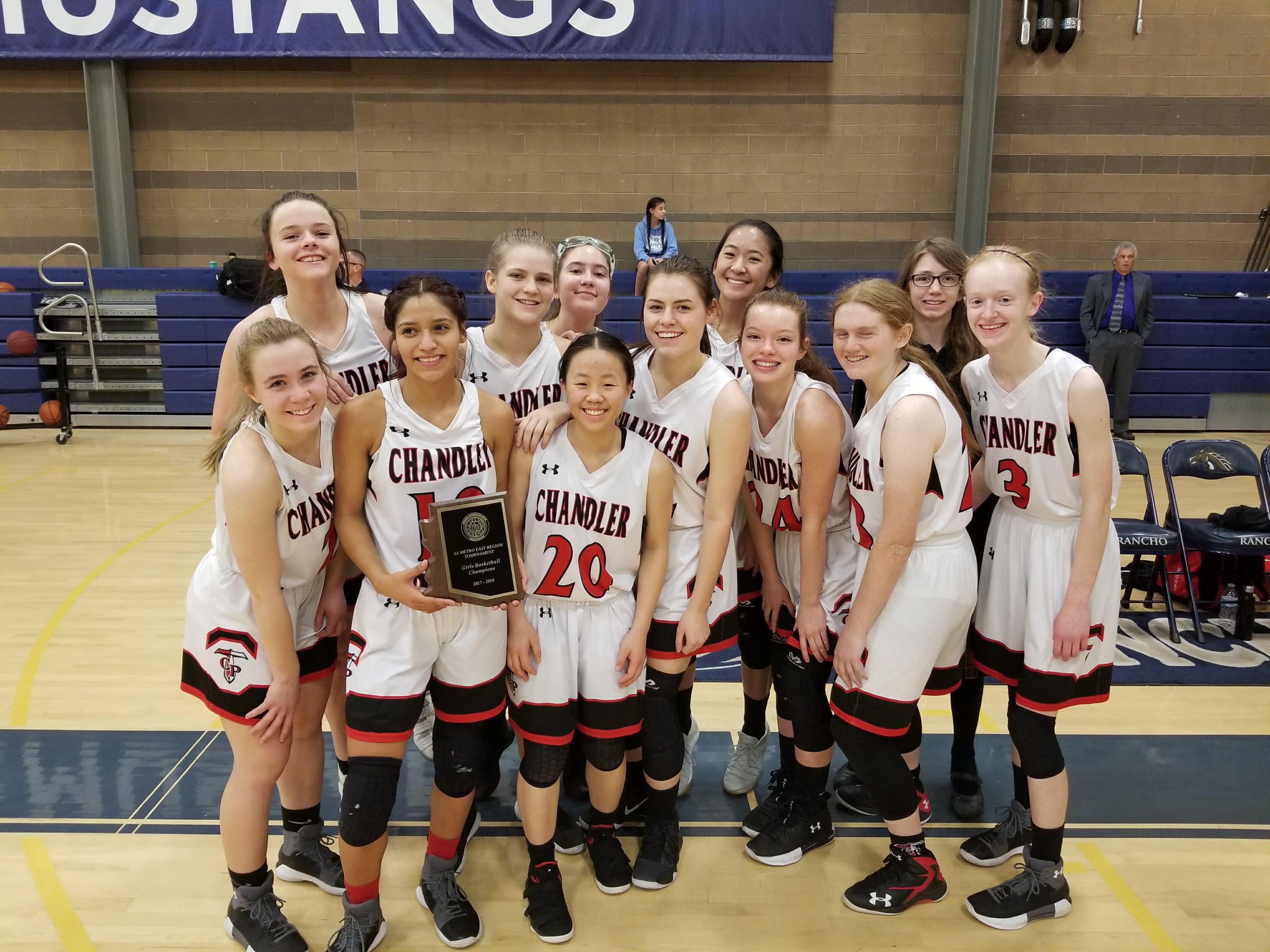 Girls Basketball WINS Region: 19-0