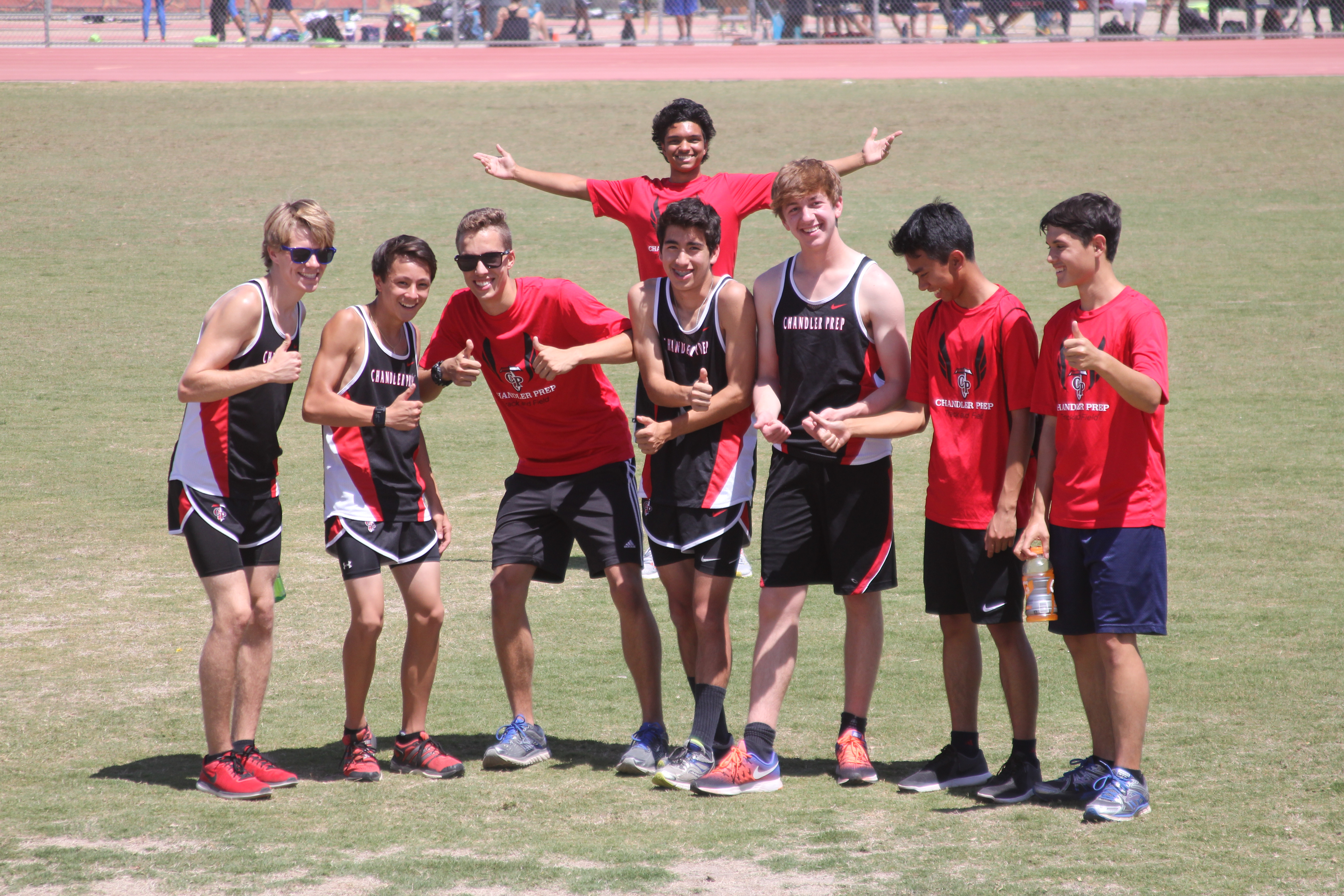 Join the fun at a track meet!!