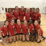 MS A Volleyball Team Beats Cicero Prep in Double Header