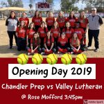 Titan Softball Opening Day