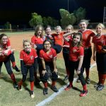 Girls B Black Softball beats North Phoenix Preparatory Academy 17 – 9