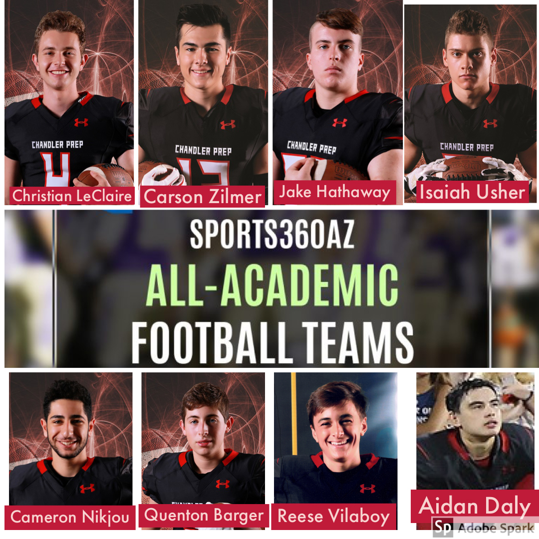 Eight Awarded All-Academic First Team Honors