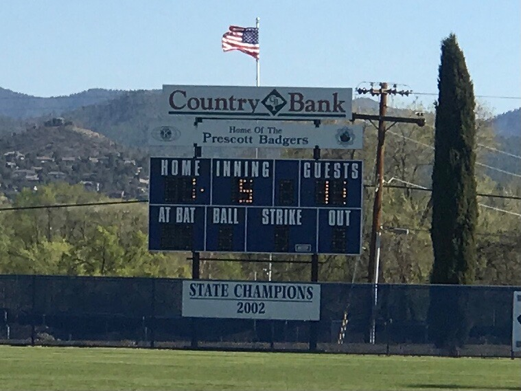 BEARS claim victory over Prescott with a 11-1 score