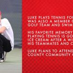 Senior Spotlight – Luke Coward