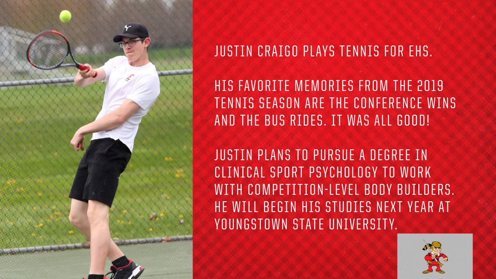 Senior Spotlight – Justin Craigo