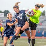 Girls Varsity Soccer beats Mentor 3 – 1