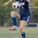 Girls Varsity Soccer beats Copley 2 – 1