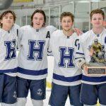 Ice Hockey beats Kenston to Win Rough Rider Invitational