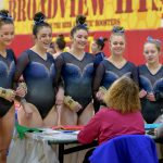 Gymnastics finishes in 3rd place at Suburban League Championships