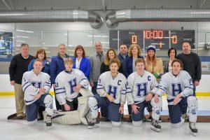 Hudson Hockey Defeats Cleveland Heights 3-2 On Senior Day