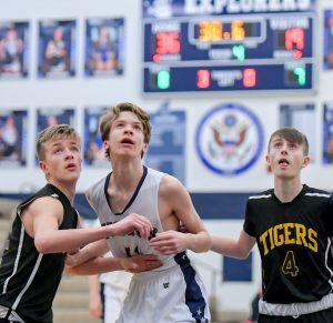 Freshman Boys Basketball Defeats Cuyahoga Falls
