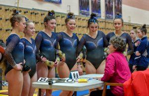 Hudson Lady Gymnastics Put On A Show At West G