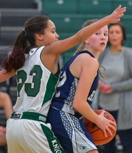 Hudson Girls Basketball Defeats Rival Nordonia 37-35