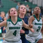 Hudson Girls Basketball Defeats Rival Nordonia 37-35