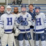 Ice Hockey defeats Roosevelt to Open Post-Season