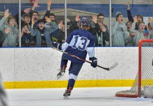 Hudson Hockey Defeats Cleveland Heights 3-1 Tonight @ KSU
