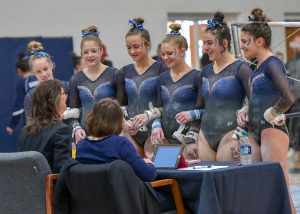 Hudson Gymnastics Places 2nd At West Geauga Sectionals