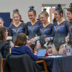 Gymnastics finishes 2nd place at OHSAA Sectionals
