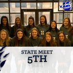 Gymnastics Finishes 5th at State Meet