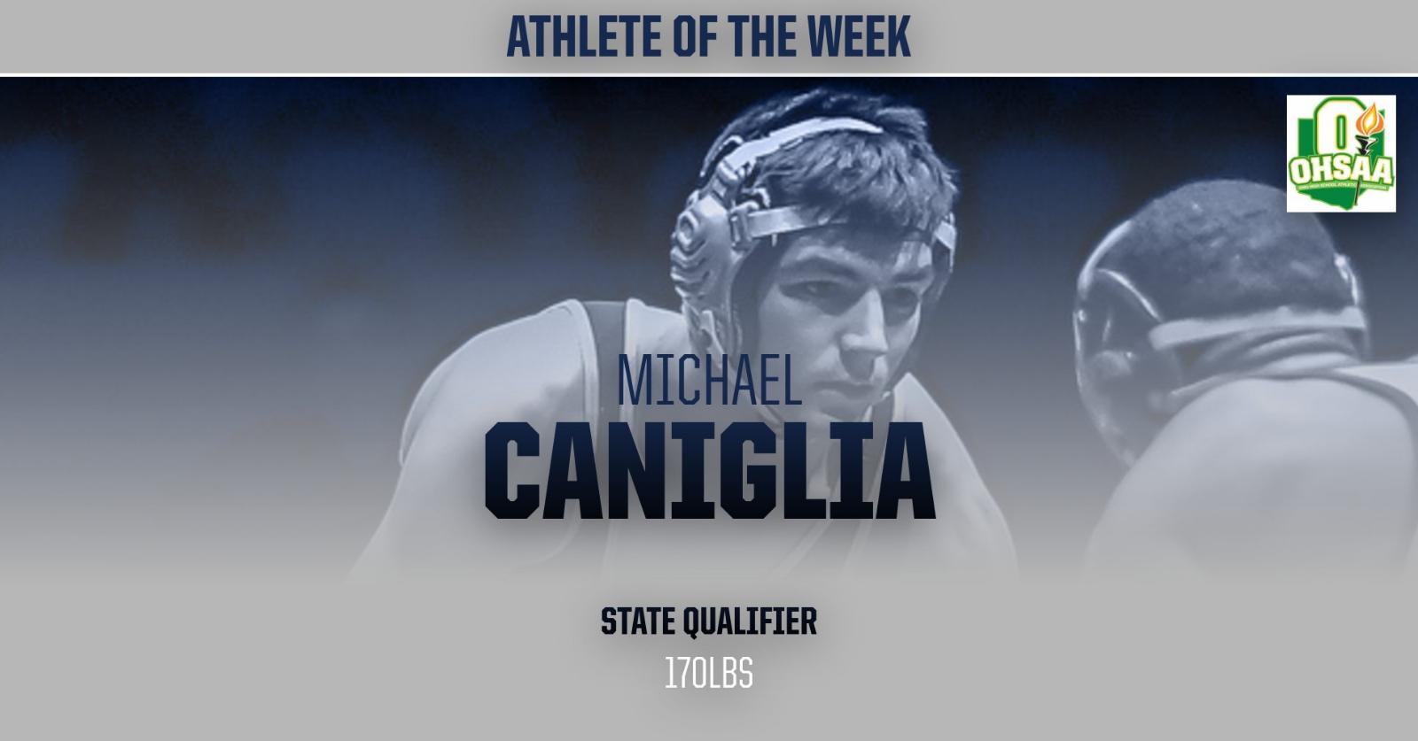 Michael Cangilia – Athlete of the Week