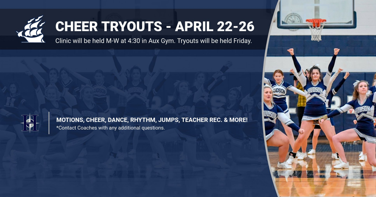 Cheer Tryout Info