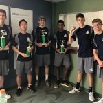 Boys Tennis finishes 3rd place at St. Edward Invitational