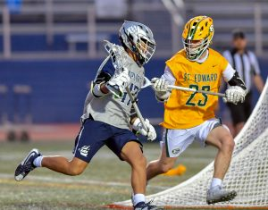 Hudson Lacrosse Notches A 9-7 Win Over St. Ed's