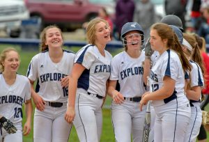 Hudson Softball Notches A Senior Day Win Over Wadsworth