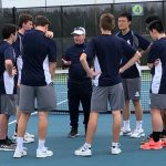 Explorer Tennis Players with Shot at Districts