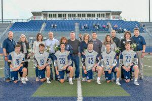 Hudson Lacrosse Defeats Everest Academy On Senior Night