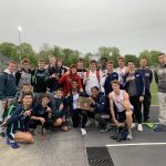 Boys Track Wins District Title!